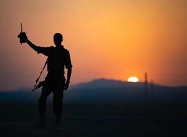La relación del hombre con la guerra
