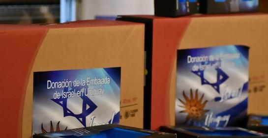 Embajada de Israel en Uruguay realiza donación a ANEP