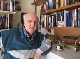 Con el escritor Mauricio Rosencof, conversando sobre la memoria...y mucho más