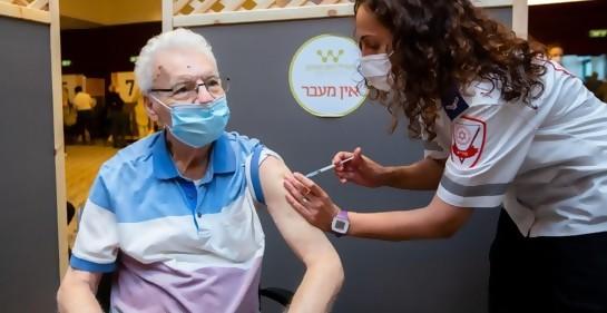 Visión de los medios de comunicación mundiales sobre vacunación en Israel