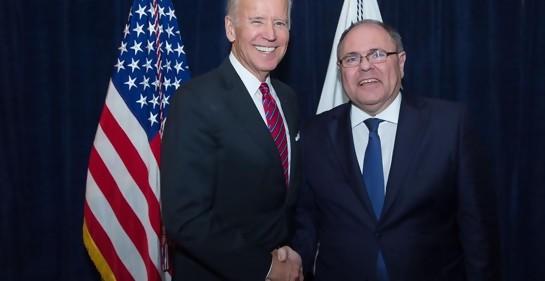 Desde Samaria, una visión optimista sobre la asunción de Joe Biden