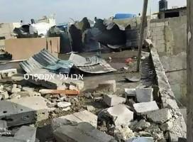 Esto pasa cuando un cohete no alcanza a cruzar la frontera entre Gaza e Israel