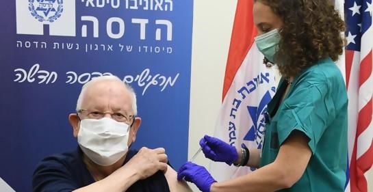 En Israel ya comenzó la vacunación de la segunda dosis de Pfizer