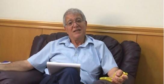 Este es el Presidente de la flamante Asociación de Comunidades Judías del Golfo