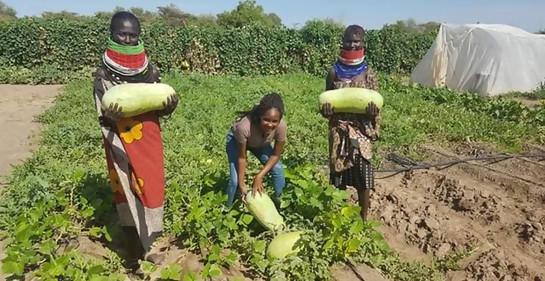 Graduada llega desde Israel con grandes ideas para el Turkana seco