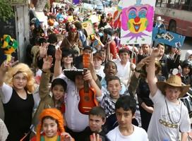 Israel se disfraza en Purim