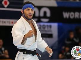 El judoka iraní Saeid Mollaei llegó a Israel para participar en el Grand Slam de Tel Aviv
