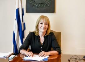 El antisemitismo me hiere en lo más profundo de mi condición humana, afirma la Intendenta de Montevideo Ing. Carolina Cosse