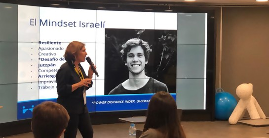 Rina Fainstein y el mindset innovador israelí en Damas Orientales XXI