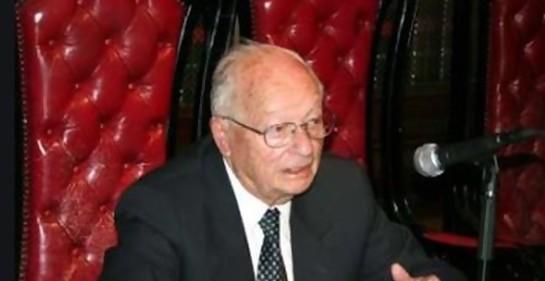 Israel emitió sello en honor a jurista argentino-israelí Natan Lerner