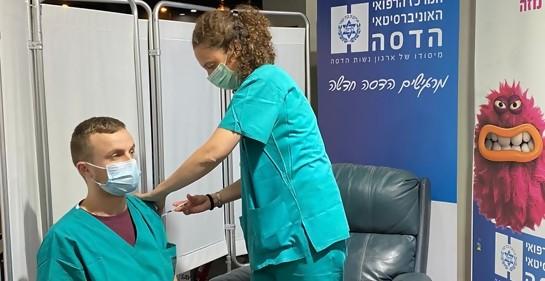 Hadassah, el primer hospital israelí que impedirá a personal médico no vacunado entrar en contacto con pacientes