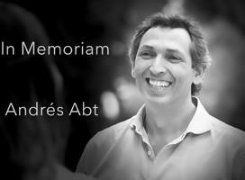 El emotivo hilo de Twitter de Marcelo Singer en memoria de su amigo Andrés Abt