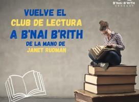 La vida juega conmigo de David Grossman en Club de lectura de B'nai B'rith Uruguay