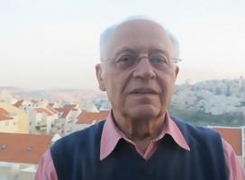Itzjak Shefi, el entonces Embajador de Israel en Argentina, que se salvó por azar