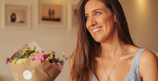 Con Verónica Albert, emprendedora y diseñadora de joyas.