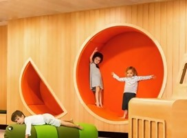 Diseñadora israelí crea espacios para niños con necesidades especiales