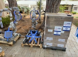 El mosaico que hizo posible la donación de equipos israelíes del hospital Sheba a Uruguay