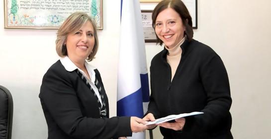 El homenaje a Israel, de una israelí muy singular