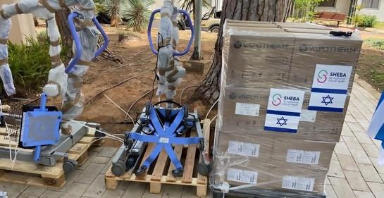 Emocionante: el mayor hospital de Israel dona equipos de CTI a Uruguay