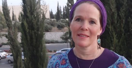 Rajel Fraenkel, la mamá de Naftali, uno de los jovencitos israelíes secuestrados  y asesinados por Hamas en junio del 2014