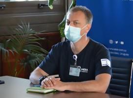 No vinimos a repartir puntaje a nadie, pero van por buen camino, dice Amit Gutkind, jefe de la delegación médica israelí en Uruguay