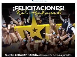 Naguía, el conjunto de bailes de la Kehila, en Got Talent Uruguay