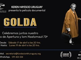Especial de Iom Haatzmaut: Documental de Golda Meir