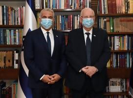 El Presidente de Israel encargó al jefe de la oposición Lapid la formación del gobierno