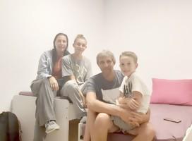 El testimonio de los Socolovsky-Borek, bajo alarma, en Raanana