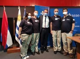 La visita de la delegación israelí del Hospital Sheba, un camino de esperanza, afirma Ministro Salinas