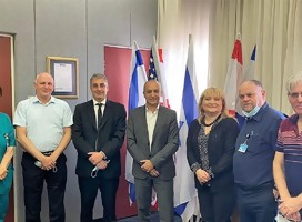 Una delegación de expertos en Coronavirus del Hospital Hadassah parte a Argentina