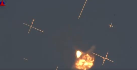 Los cohetes de Hamás