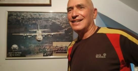 Con el  Coronel (R) Amos Faran, piloto de uno de los aviones que llevó a los judíos de Etiopía a Israel