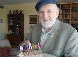 Este hombre ayudó a derrotar a Hitler, participando en el desembarco en Normandía