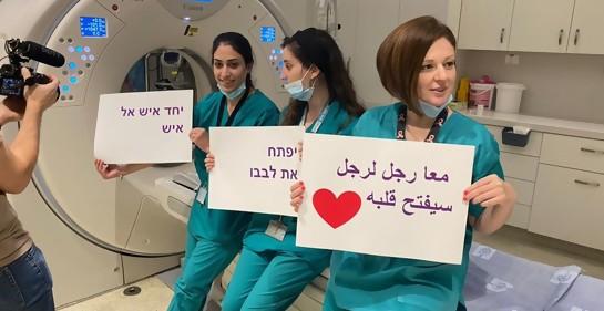 El hospital Hadassah de Jerusalem, apostando al trabajo en paz