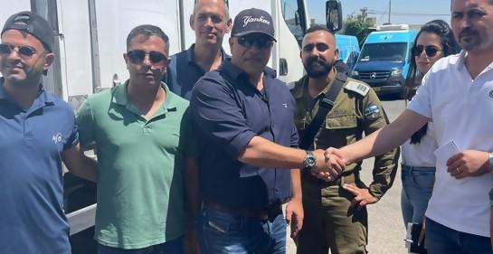 Intercambio de vacunas de Pfizer entre Israel y la Autoridad Palestina
