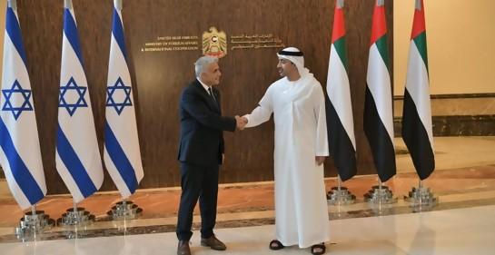 El doble mensaje del Canciller israelí al inaugurar la Embajada de Israel en los Emiratos Árabes Unidos