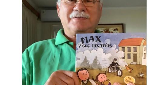 Entrevista especial a Julio Rosenblatt, autor de la serie Max y sus desafíos