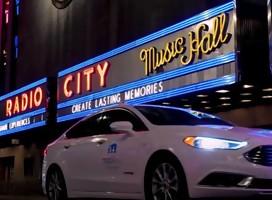 Mobileye muestra auto autónomo  por las calles de   Nueva York