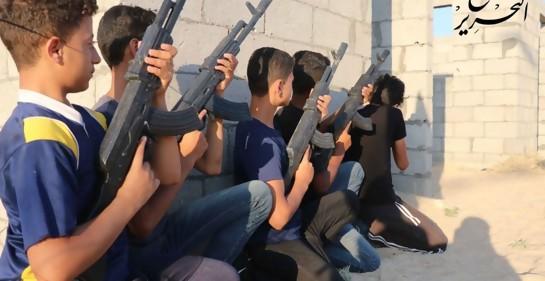 Campamentos de Hamas y Jihad Islámico en Gaza adiestran a menores en terrorismo