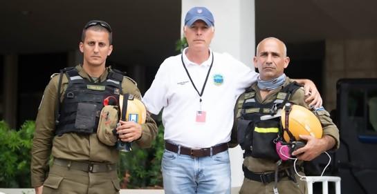 Los vamos a encontrar a todos, afirma Coronel Elad Edri, sub jefe de delegación de rescate israelí en Miami