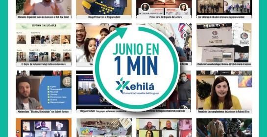 ¿Sabías todo lo que se ha hecho en la Kehila en el mes de junio?
