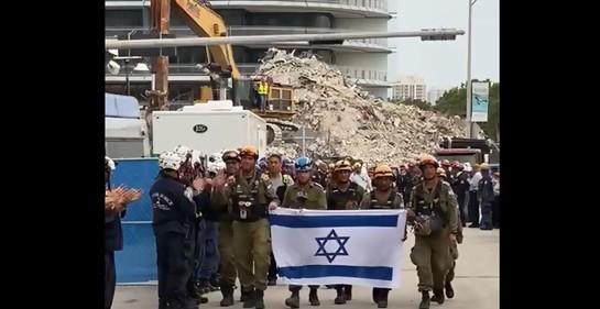 Dolido y emocionante resumen de la misión israelí en Surfside-Miami