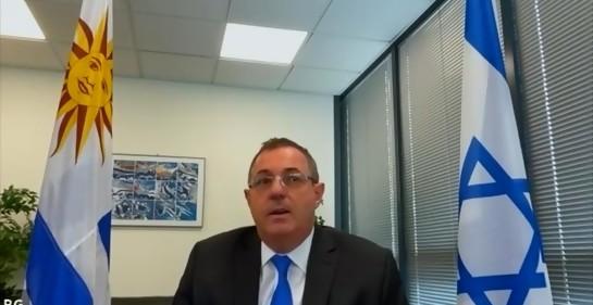 Así celebró la Embajada de Uruguay en Israel  el 25 de agosto