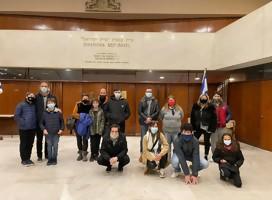El Grupo Guili visitó al Museo de la Shoá de Uruguay