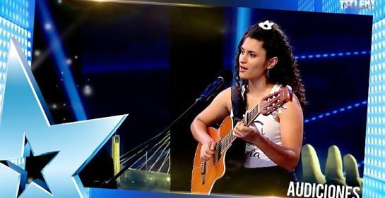 ¿Se acuerdan de Lucía, de Got Talent Uruguay, y el Hatikva?