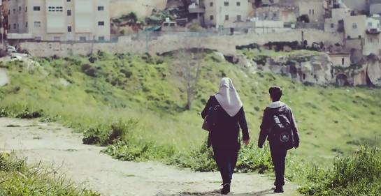 Niños palestinos, instrumentos de sus líderes