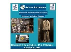 Día del Patrimonio en el Museo de la Shoá del Uruguay
