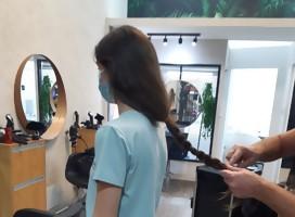 Donar cabello no salva la vida, pero ayuda a seguir luchando