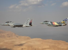 Importante cooperación estratégica en los cielos de Israel comienza con un gesto singular